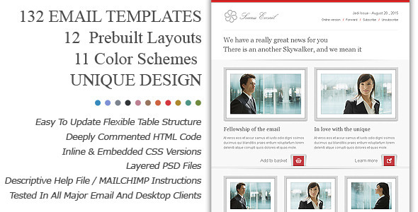Easy email newsletter templates free for Great mailchimp templates