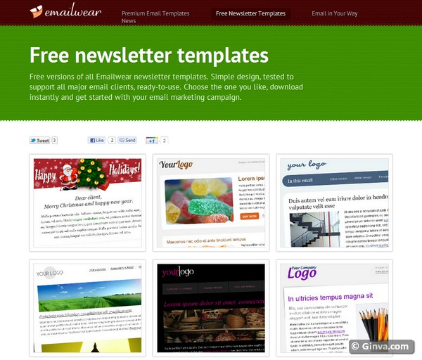 Email Newsletter Templates Free Mac JR9abECg